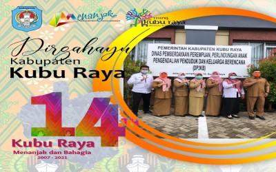 Selamat Hari Jadi Kabupaten Kami Kubu Raya Ke 14